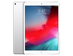 Apple iPad Air 64Gb Wi-Fi + Cellular Silver (MV0E2RU/A)